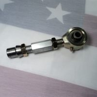 Forged polyurethane bushed spherical joint w/adjuster & tube end