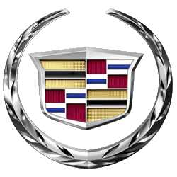 This image has an empty alt attribute; its file name is cadillac-logo.jpg