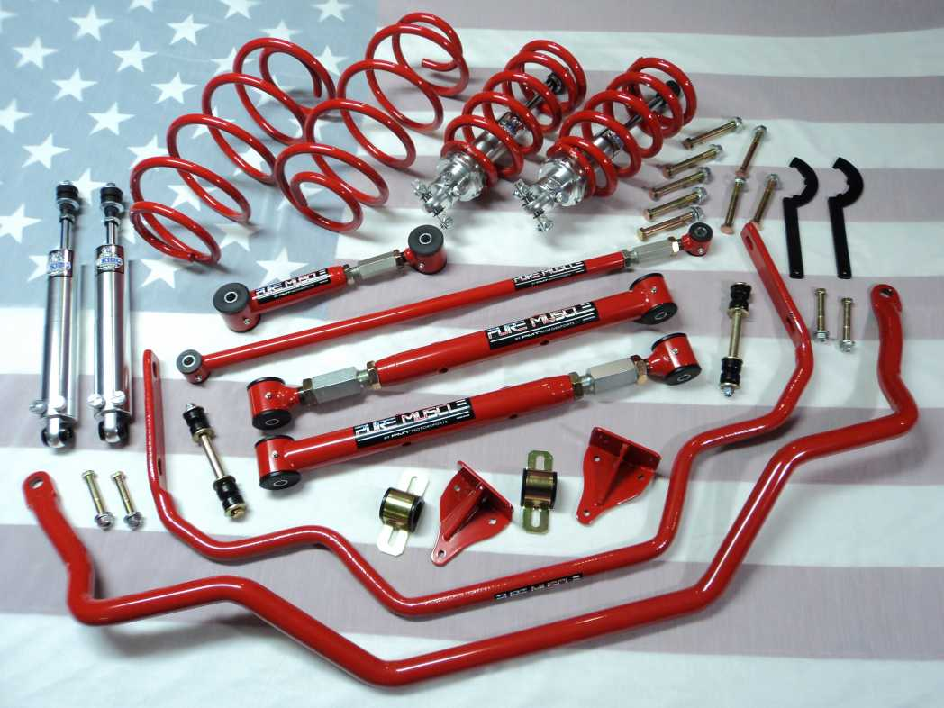 1965-1968 FORD GALAXIE SUSPENSION KIT