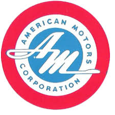 This image has an empty alt attribute; its file name is american-motors-logo.jpg